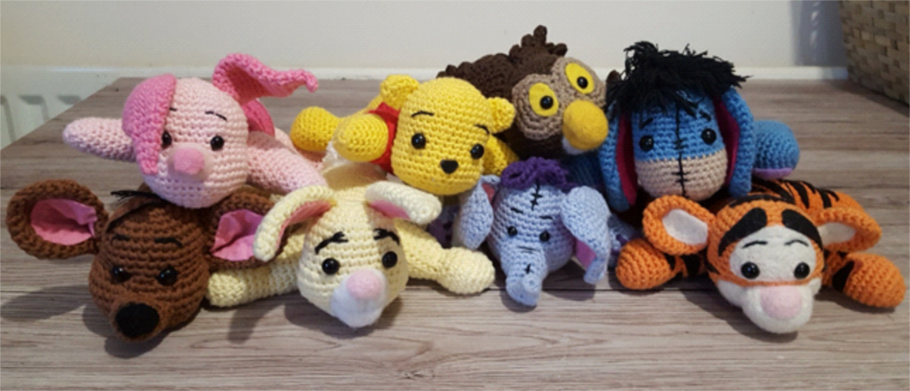 Winnie the Pooh and Friends Amigurumi • One's Creative Mind | 440x1024